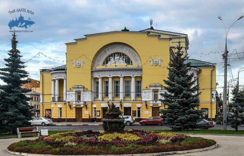 Excursionar en el Teatro del Drama Fedora Volkova en Yaroslavl; Recorrer el Teatro del Drama Fedora Volkova en Yaroslavl