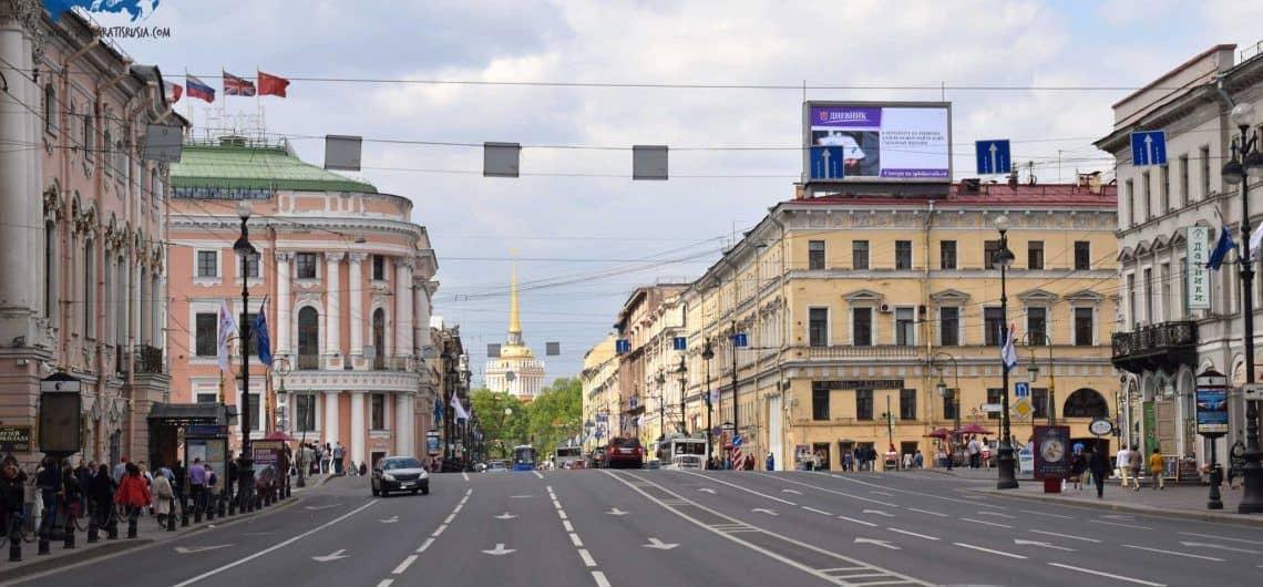 Recorrer la Calle Nevsky Prospect San Petersburgo; Que ver en la Calle Nevsky Prospect en San Petersburgo; Visitar la Calle Nevsky Prospect San Petersburgo