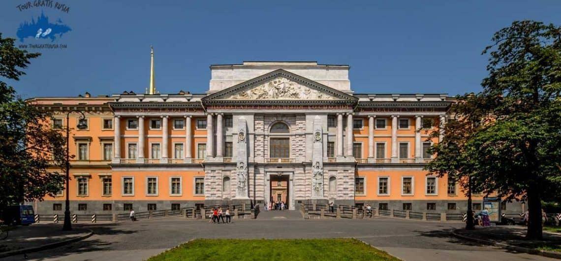 Conocer el Castillo Mijailovski en San Petersburgo; Visitar el Castillo Mijailovski en San Petersburgo