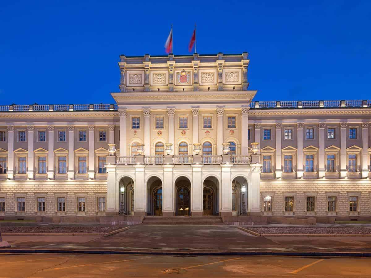 Palacio Mariinsky de San Petersburgo