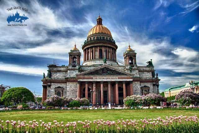 Vista online de San Petersburgo; Cámara panorámica de San Petersburgo; San Petersburgo en cámaras web