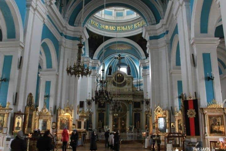 Catedral-del-Príncipe-Vladimir-en-San-Petersburgo-interior