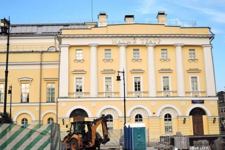 El-Teatro-de-Drama-Maly-en-San-Petersburgo