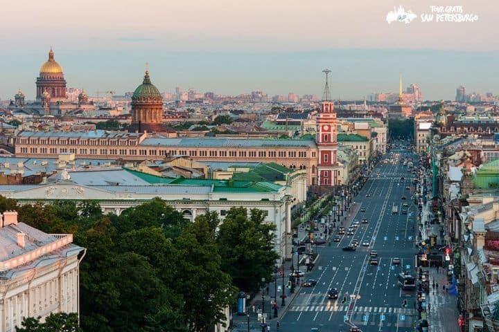 Excursión-en-la-Calle-Nevsky-Prospekt-español