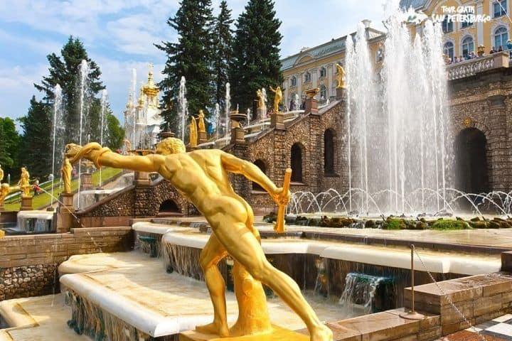 Excursión-fuentes-de-Peterhof