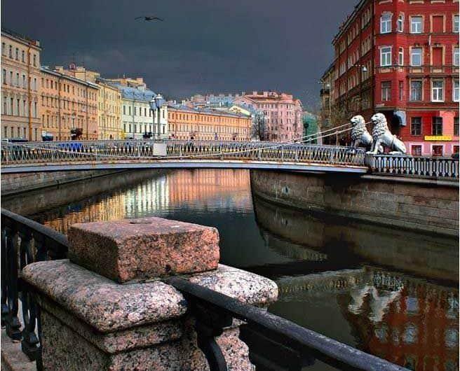 Excursionar por el Puente de los Leones en San Petersburgo; Conocer el Puente de los Leones en San Petersburgo; Visitar el Puente de los Leones en San Petersburgo