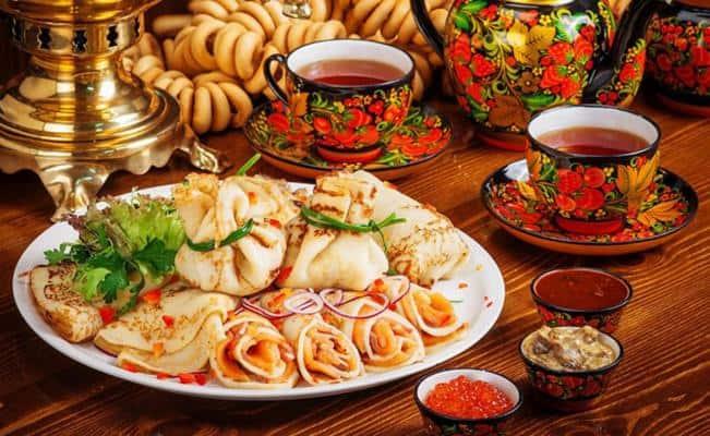 Comida típica de Rusia