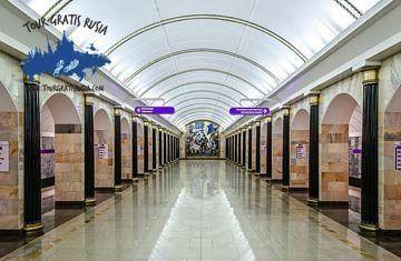Visita a las principales estaciones de San Petersburgo