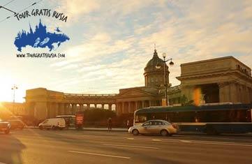 excursión en la Avenida Principal de Petersburgo