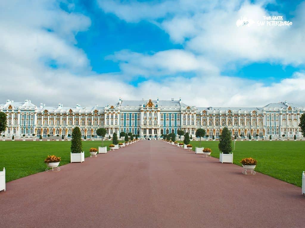 Excursión en Jardines y Palacio de Pushkin