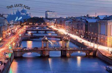 Excursión en Barco por los canales de San Petersburgo; Recorra la Venecia del norte