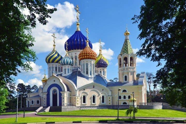 Catedral ortodoxo en Ekaterimburgo
