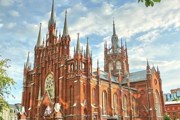 Catedral catolico en Moscu