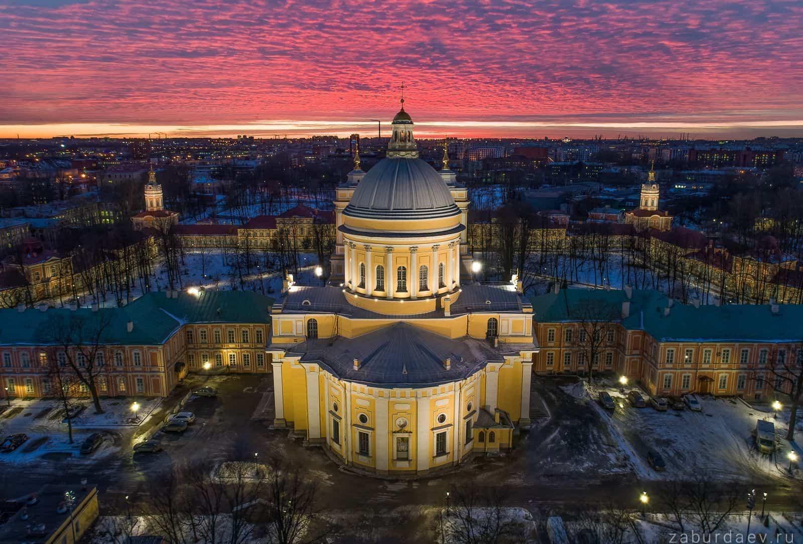 San Petersburgo y Peterhof, Excursión en San Petersburgo