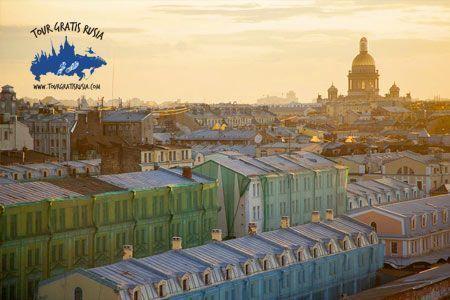 Excursión centro de Petersburgo; Tour sobre las azoteas de San Petersburgo; Excursión en los Tejados de San Petersburgo