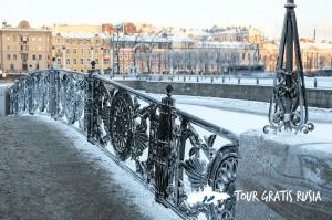 Puentes y canales de san petersburgo